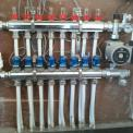 Uponor Manifold with Actuators